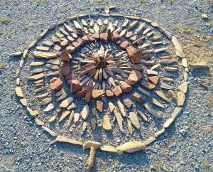 mandala pierre