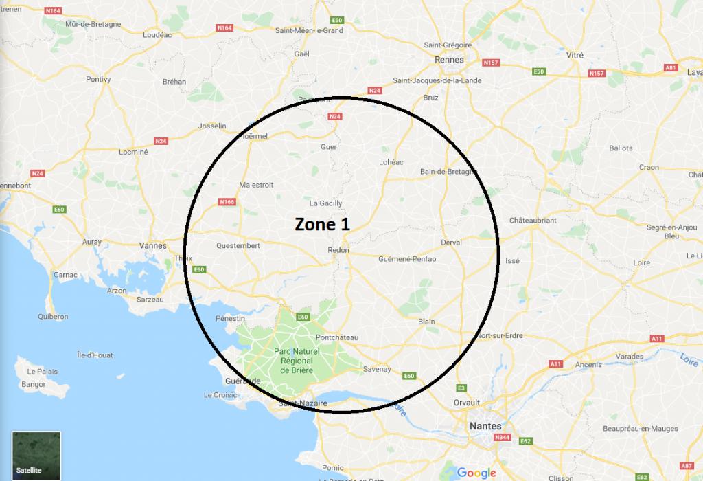 zone tarif